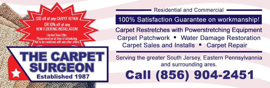 Carpet Repair Gloucester City NJ